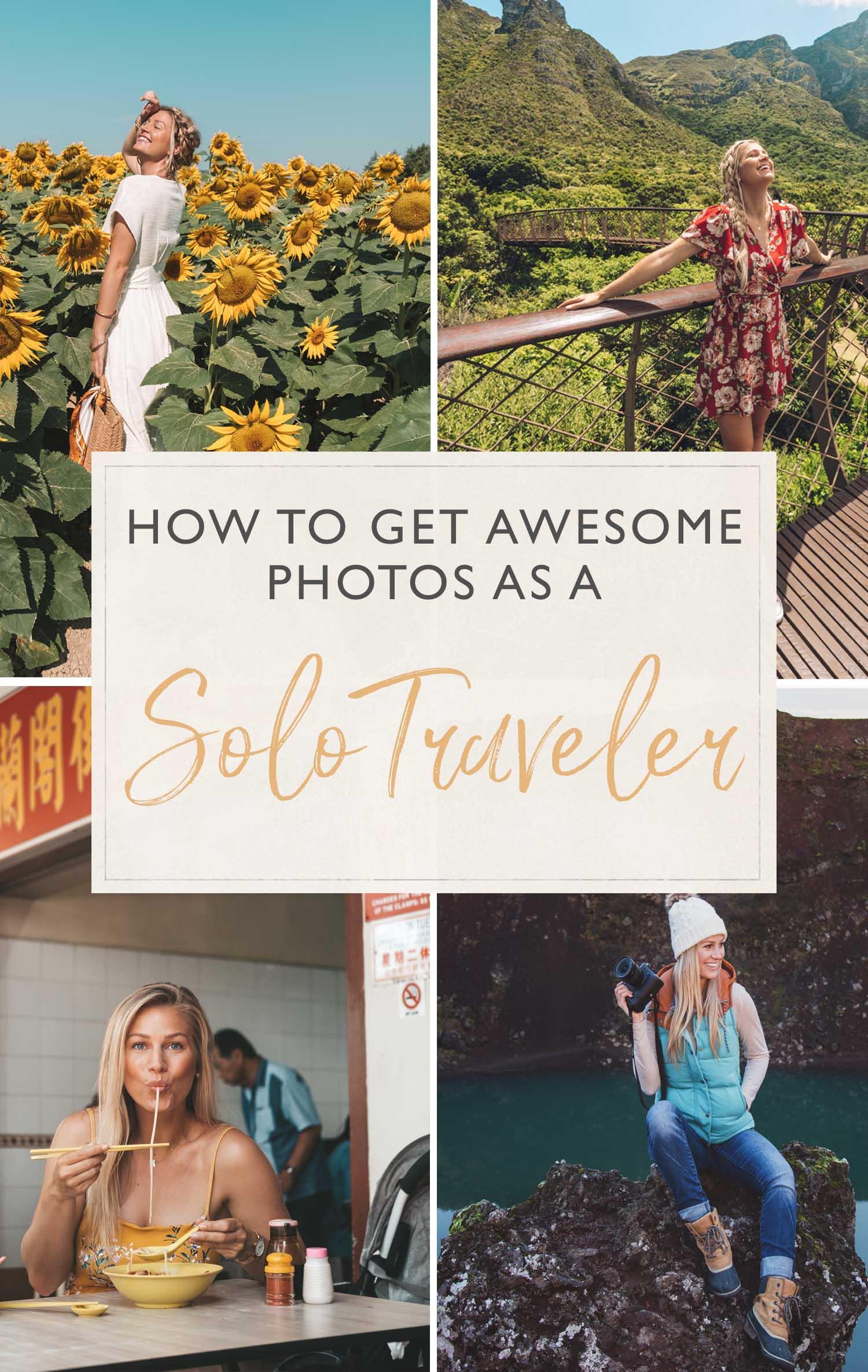 Solo Traveler Photos