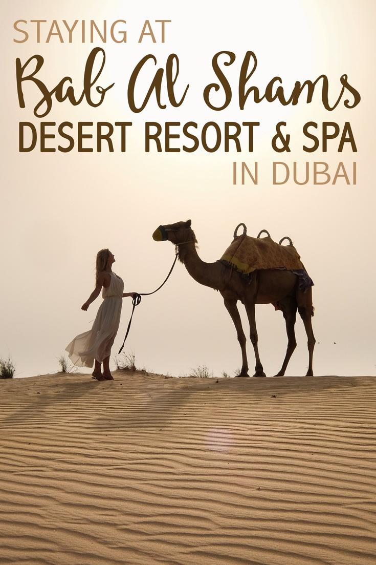 Bab Al Shams Resort in Dubai
