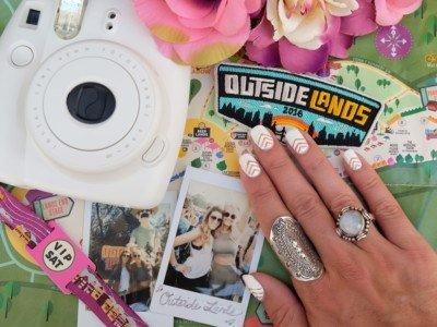 Music Festival Inspired Travel Nails