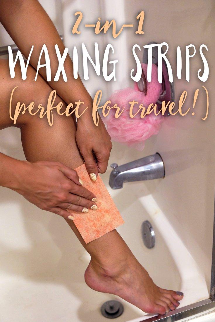 Waxing Strips Travel
