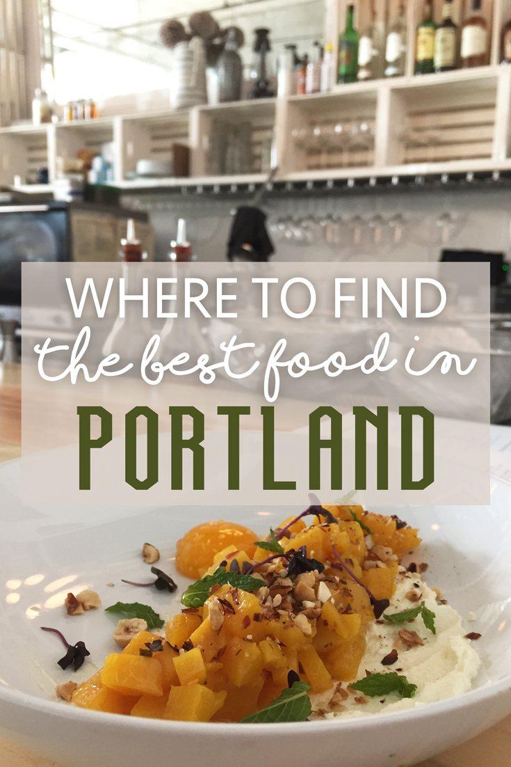 Best Food in Portland