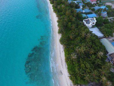 Dhigurah Beach Drone