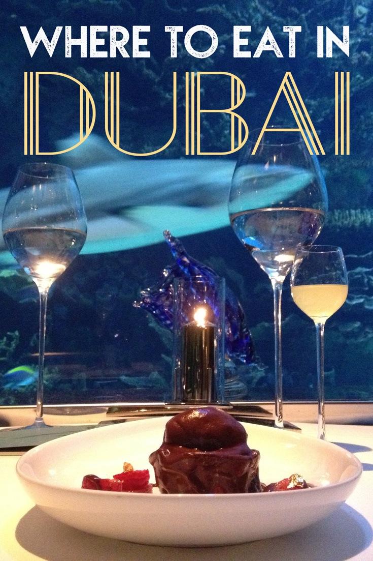 Where to Eat in Dubai