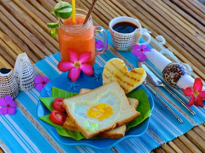 Coconut Garden Beach Food
