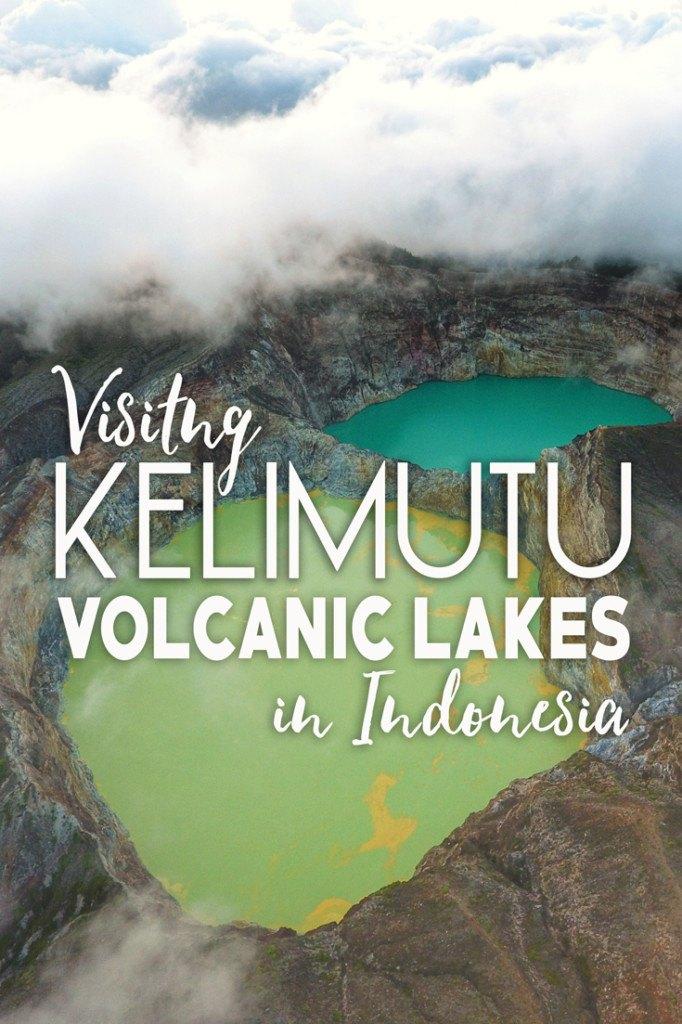 Visiting Kelimutu Volcanic Lakes