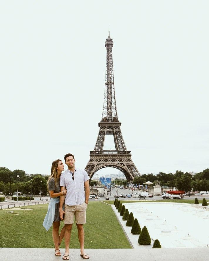 Romantic Paris Couples