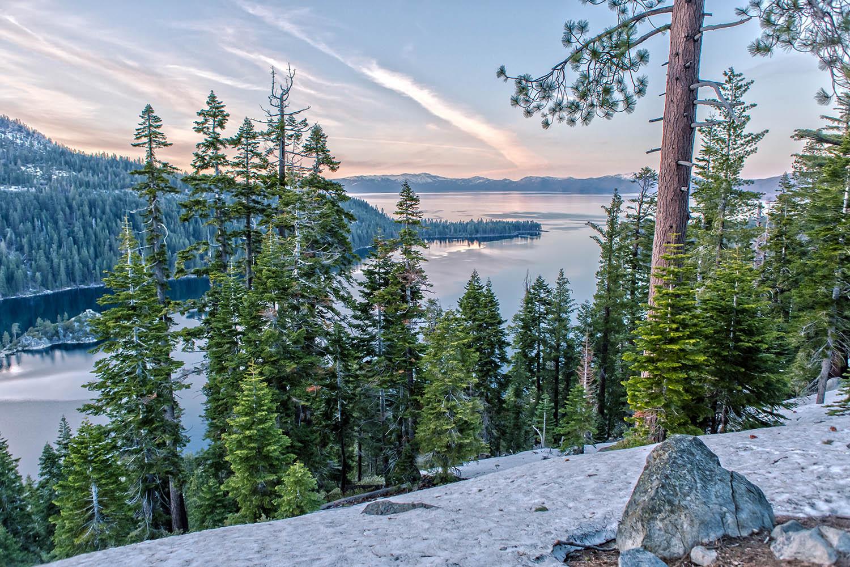 lake tahoe california winter