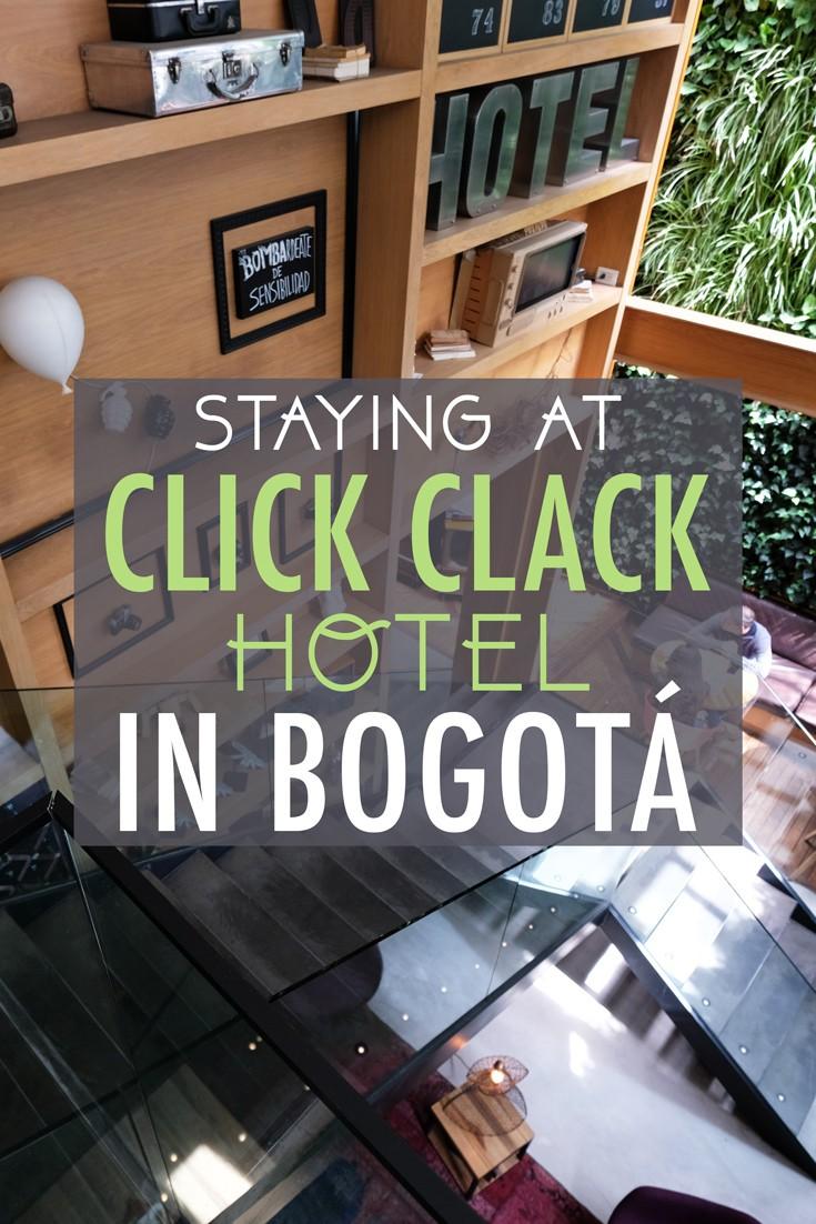 Click Clack Hotel in Bogota Review