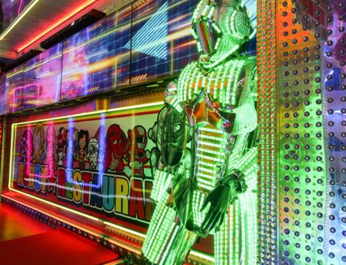 Visiting the Robot Restaurant in Tokyo