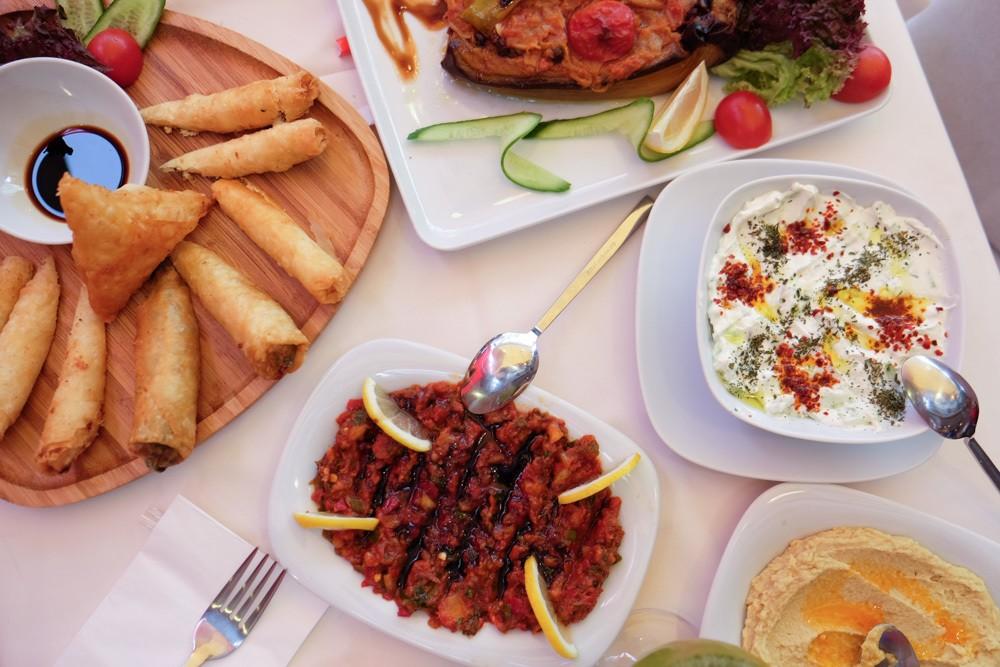 Istanbul Vegetarian Food