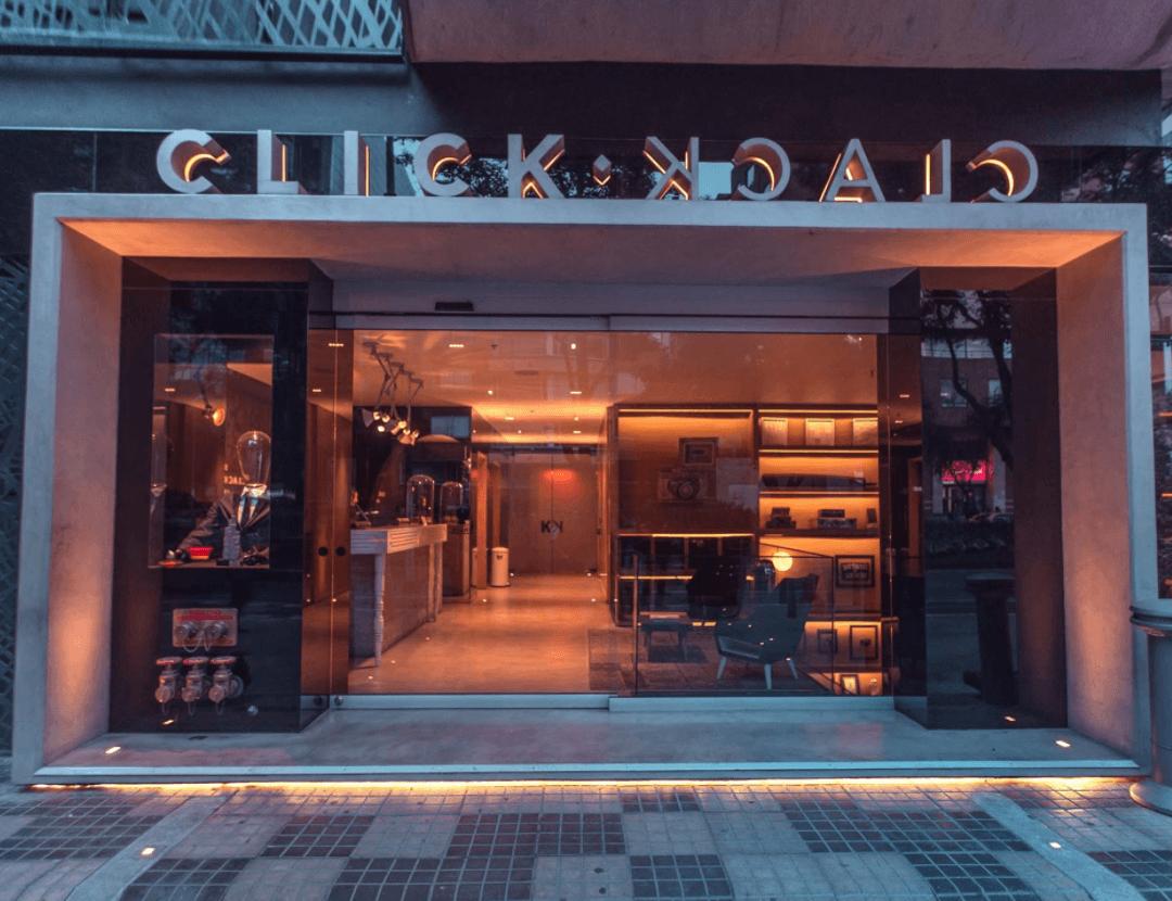 Click Clack Hotel entry