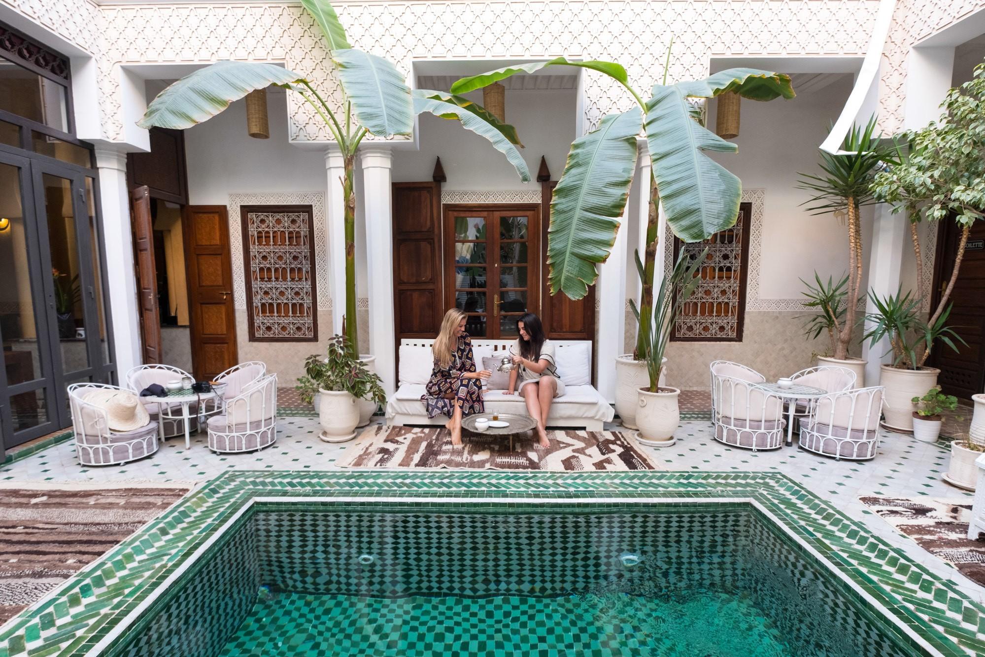 Riad Yasmine Pool