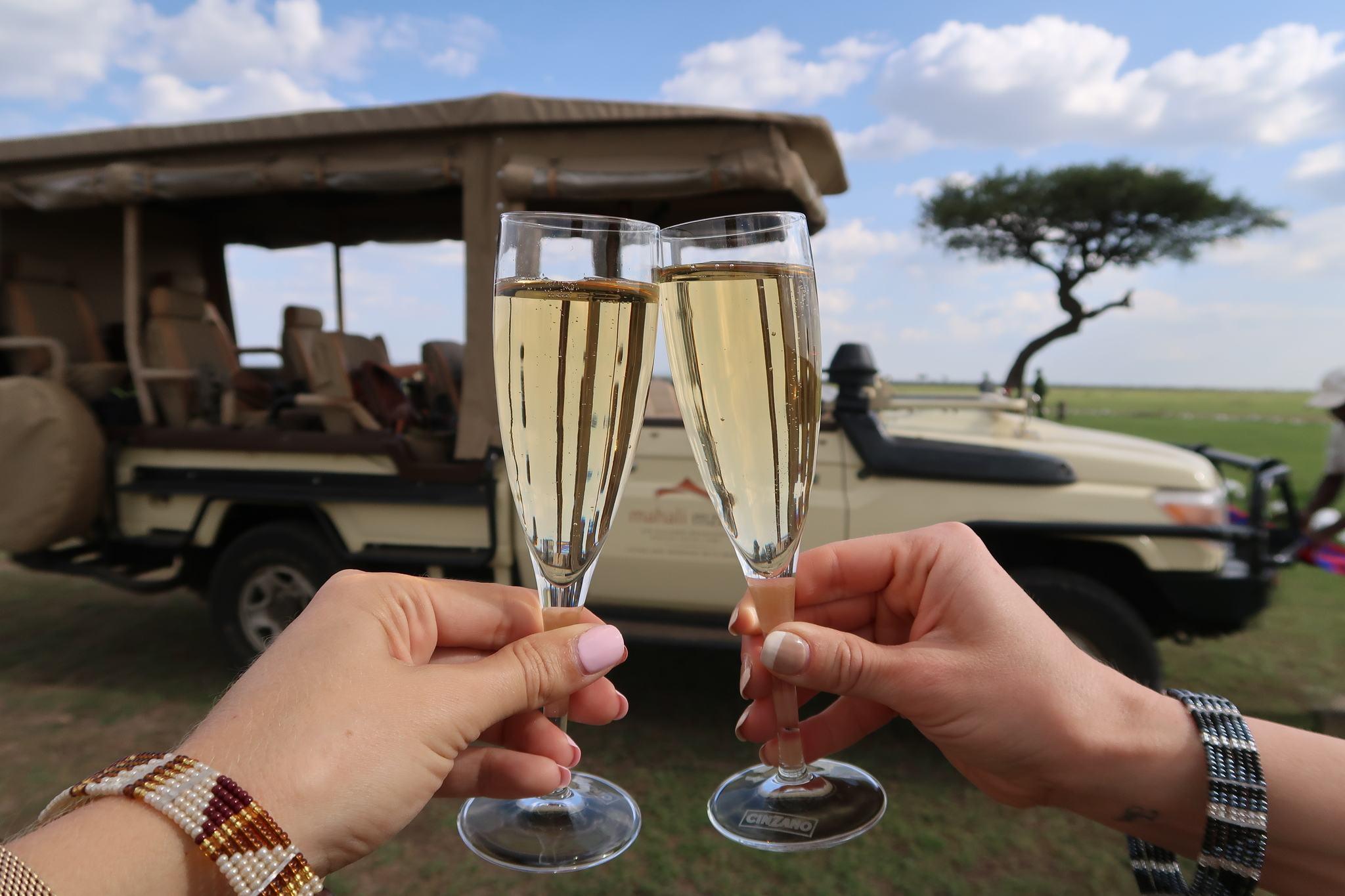 Safari with Champagne