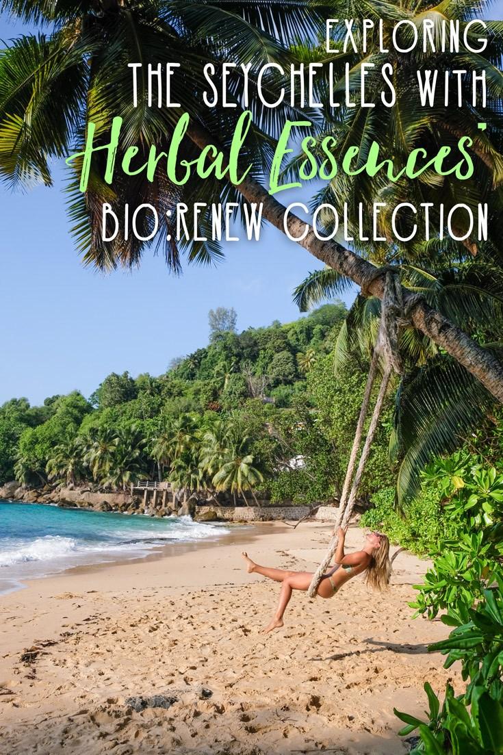 Seychelles with Herbal Essences bio:renew