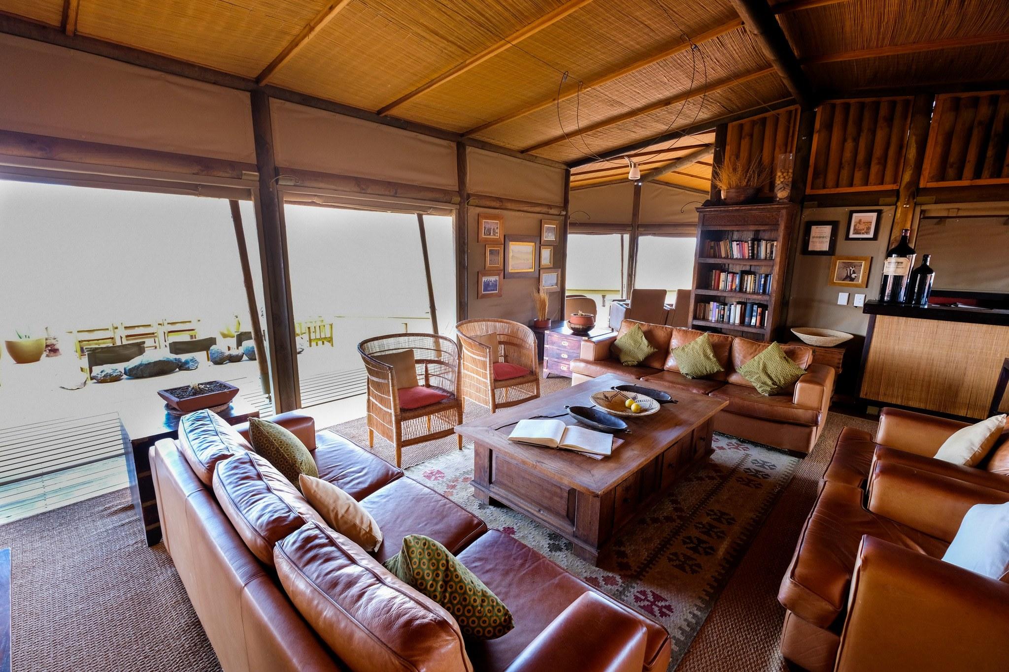 wolwedans dunes lodge living room
