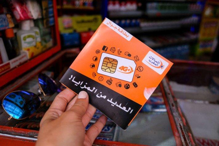 sim card morocco