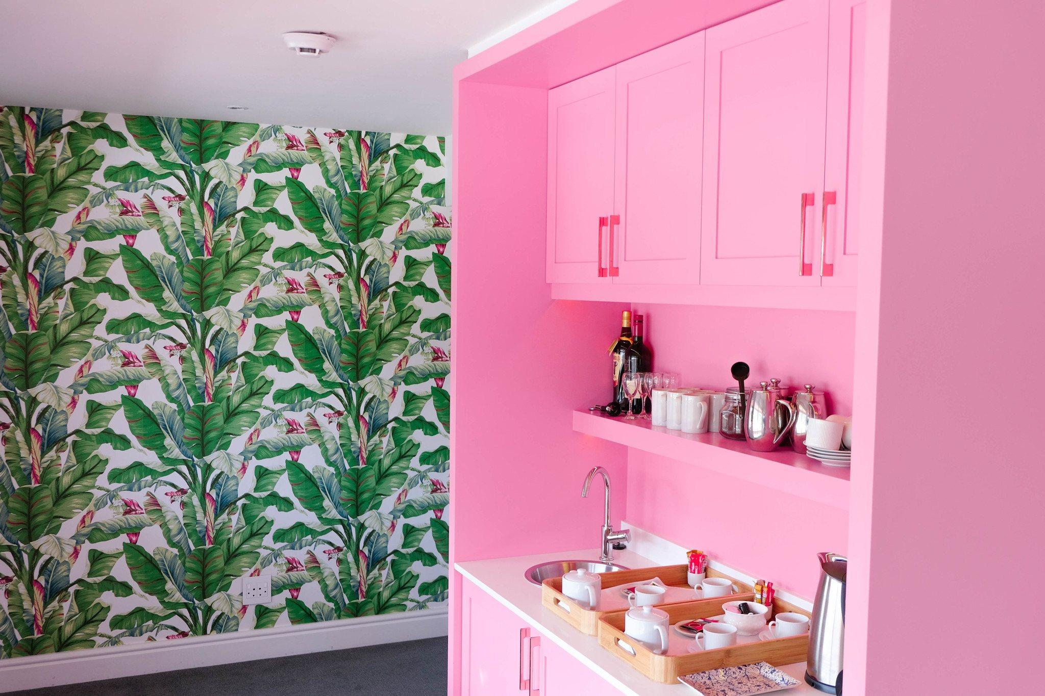 kitchen inside one marine drive hotel