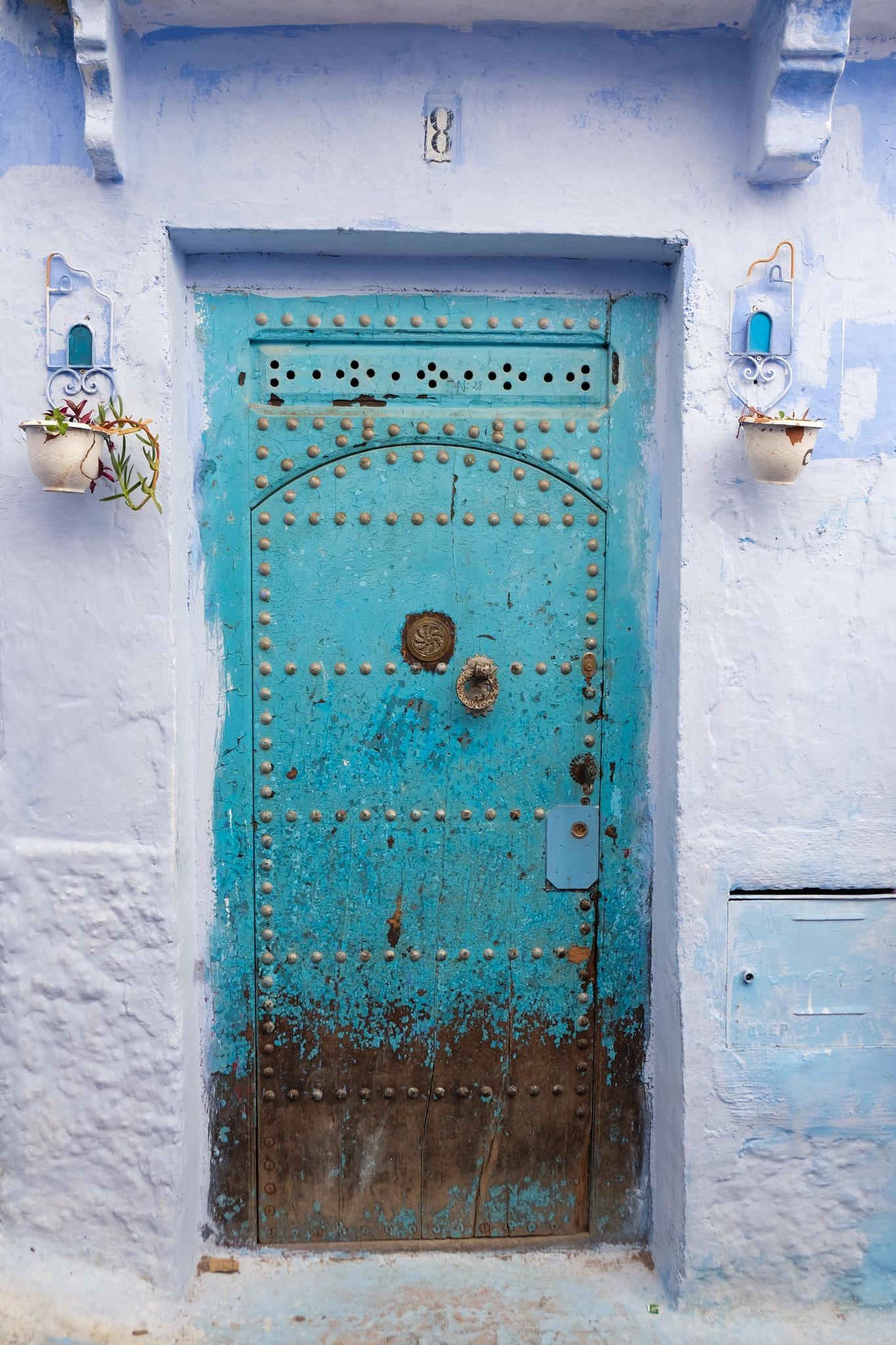Blue Door in Chefchaouen