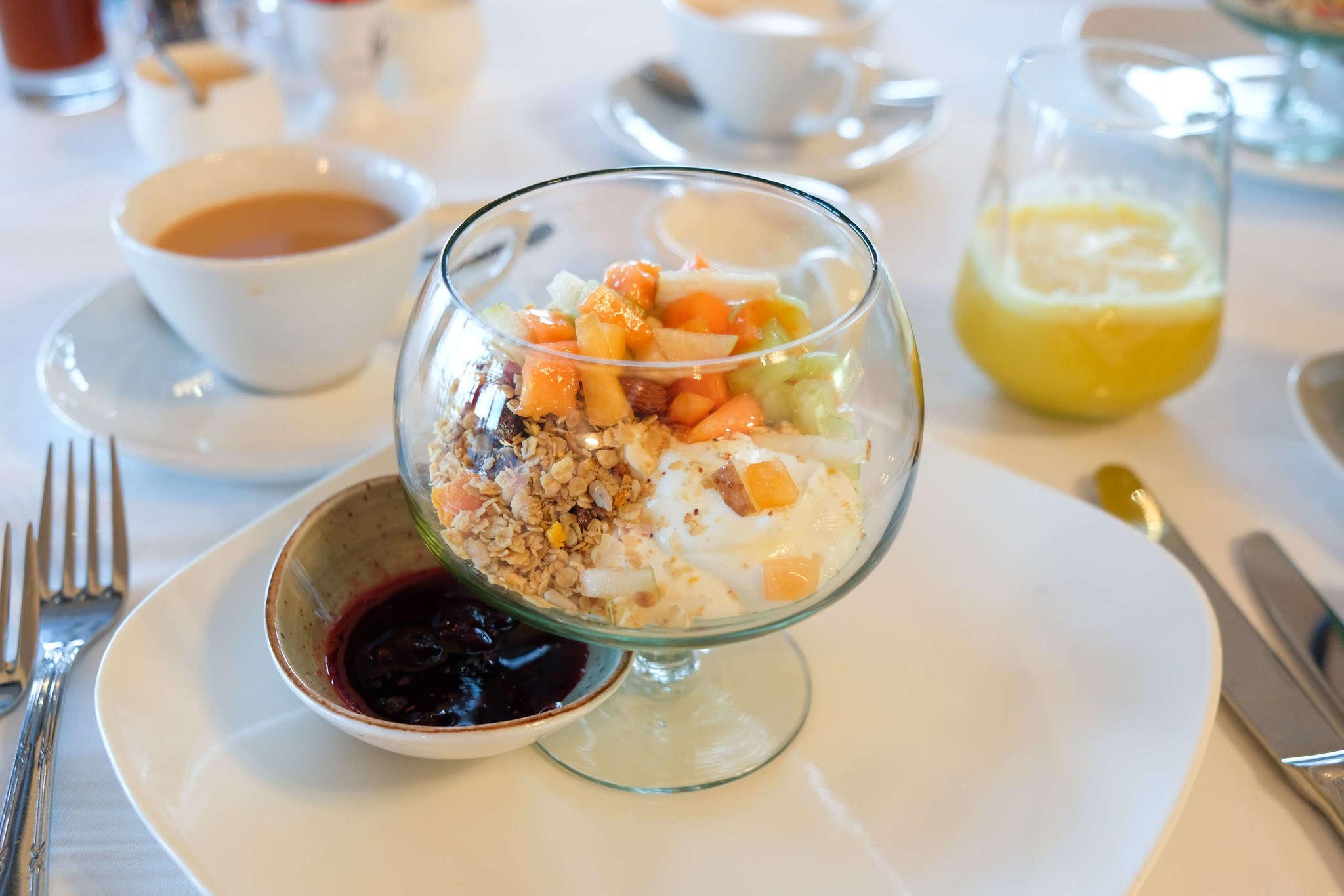 Breakfast at Tintswalo