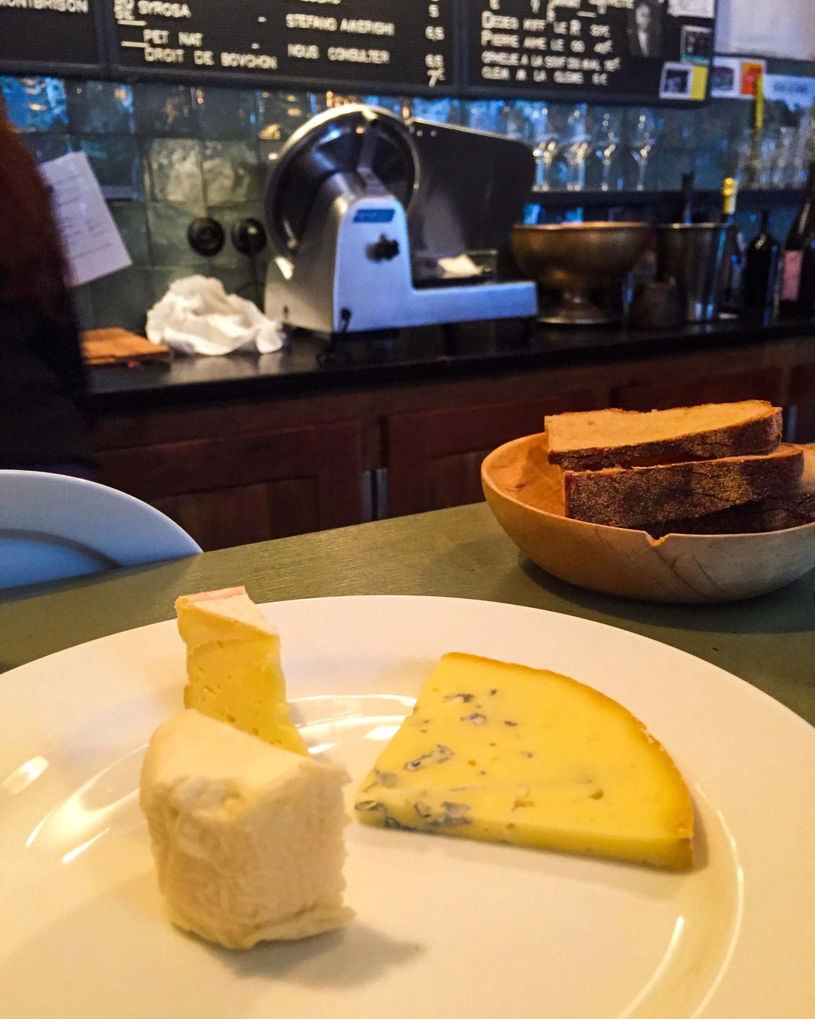cheese platter in paris
