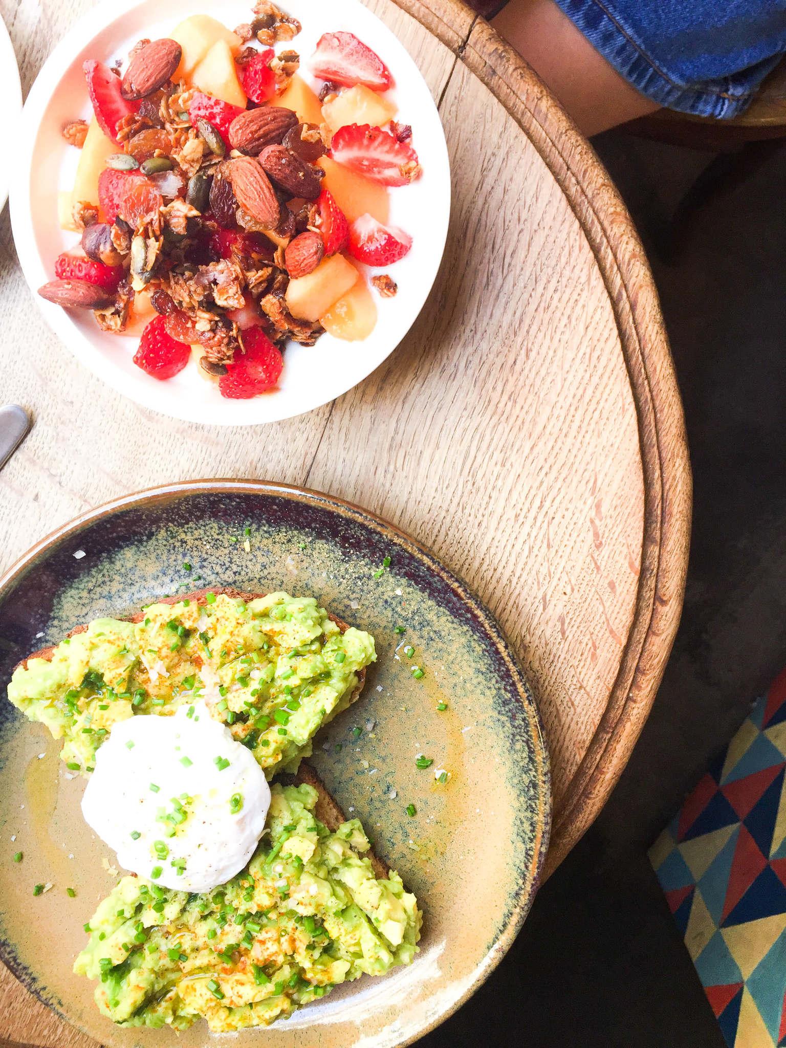 avocado toast in paris