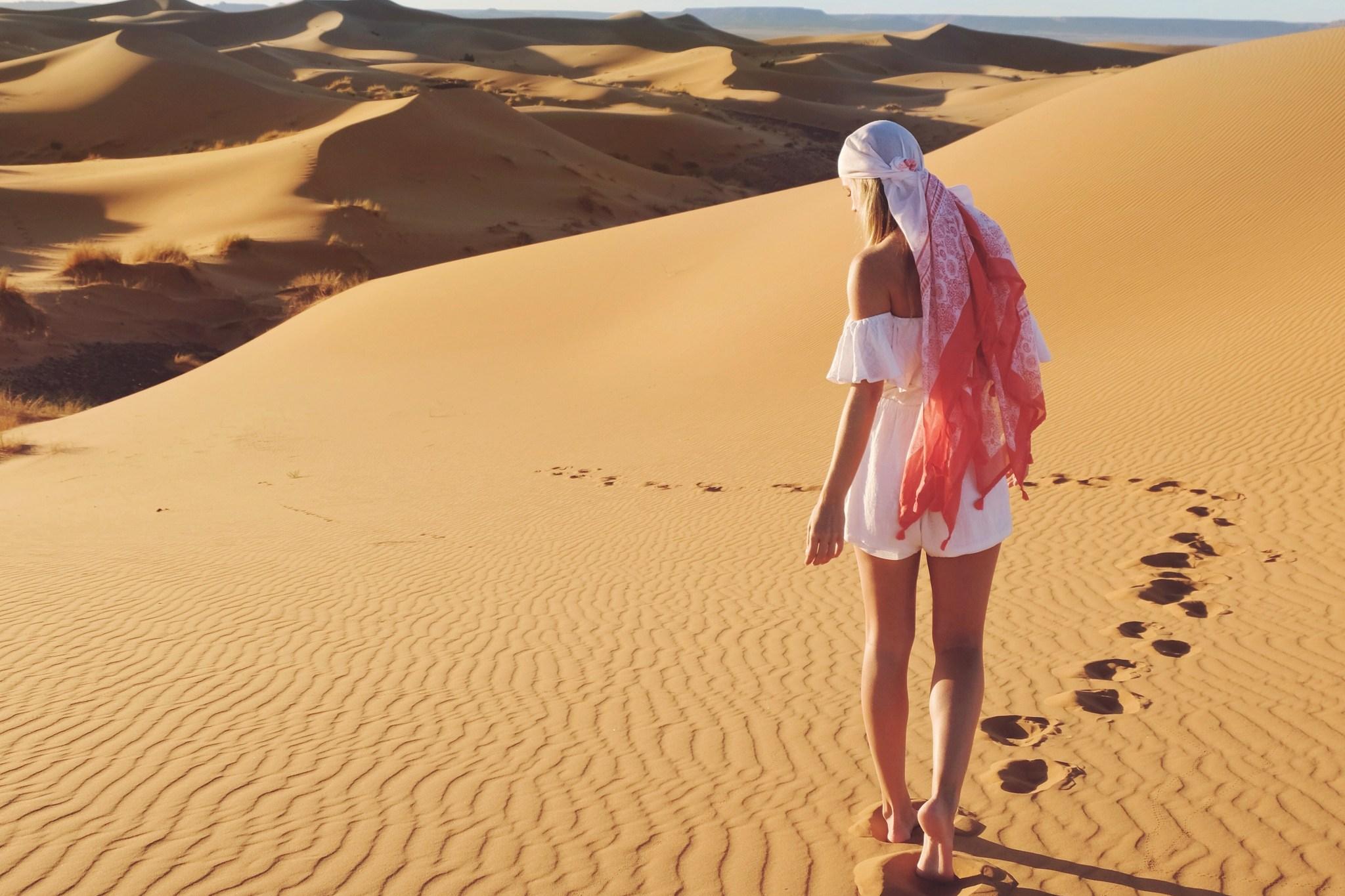 Sahara Dunes in Morocco