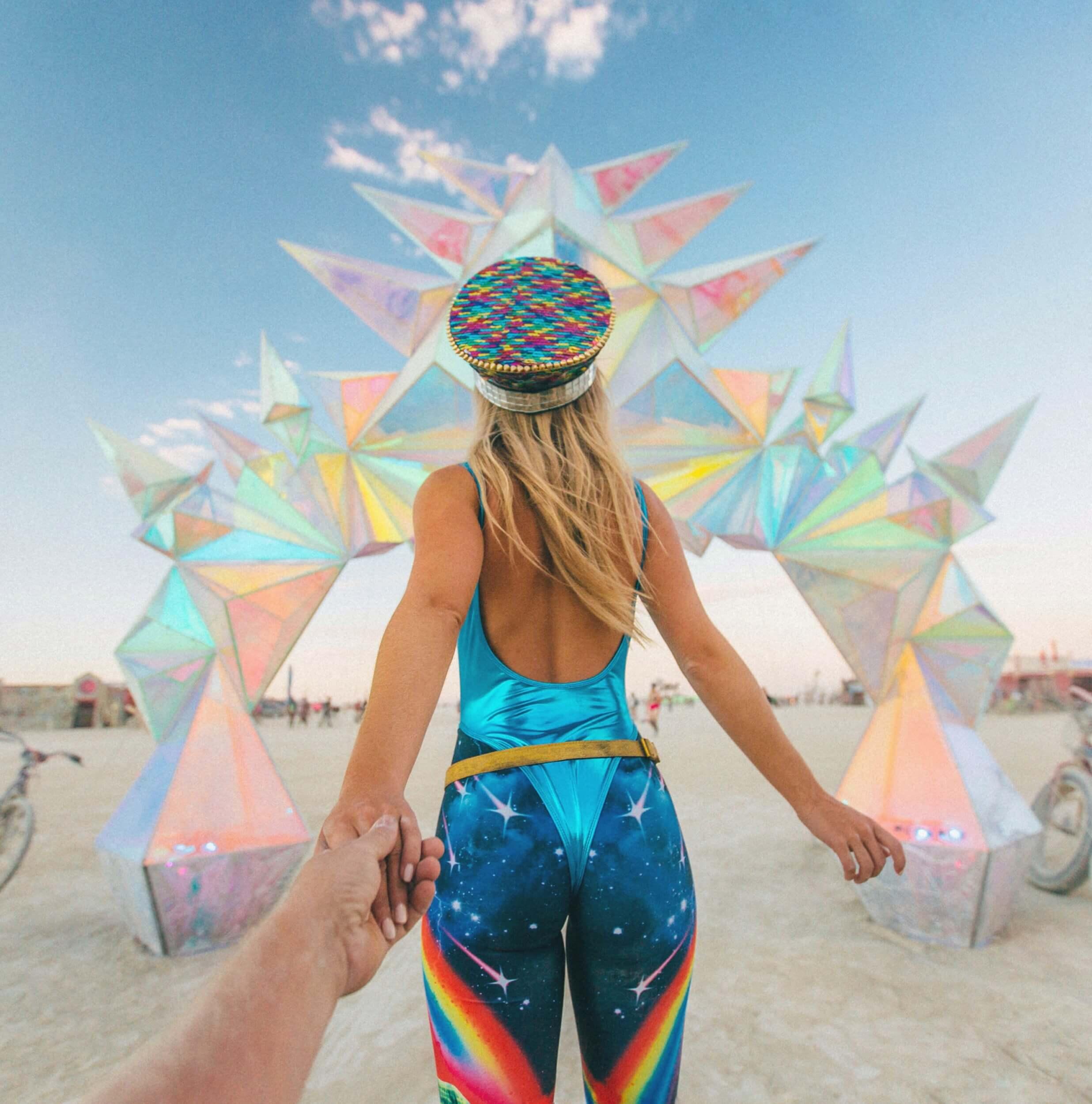 Burning Man outift