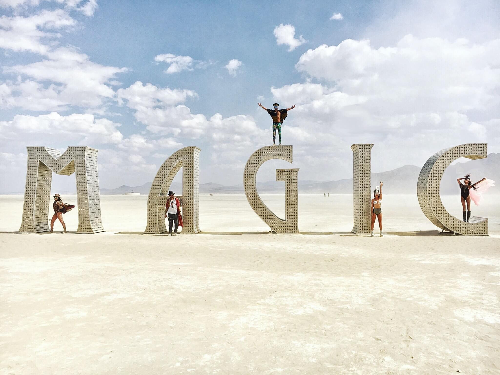 Magic Installation at Burning Man