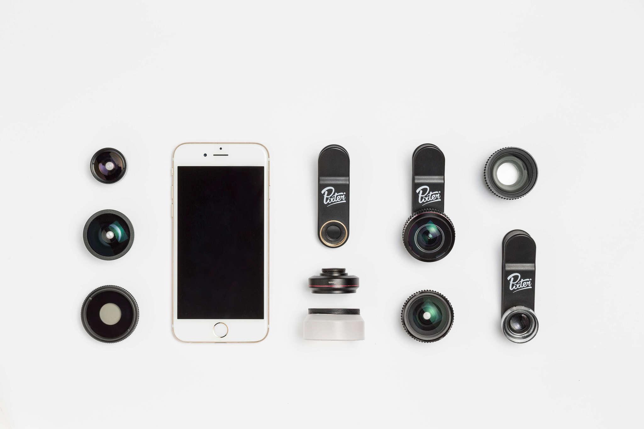 Pixter Flatlay Lenses