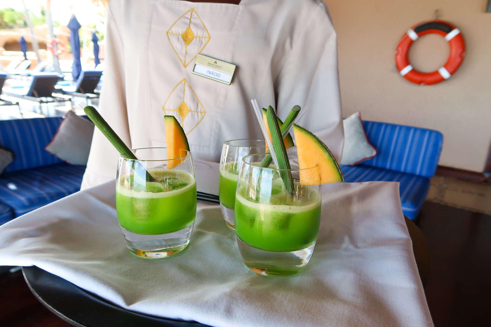 Green drink at Anatara Bazaruto