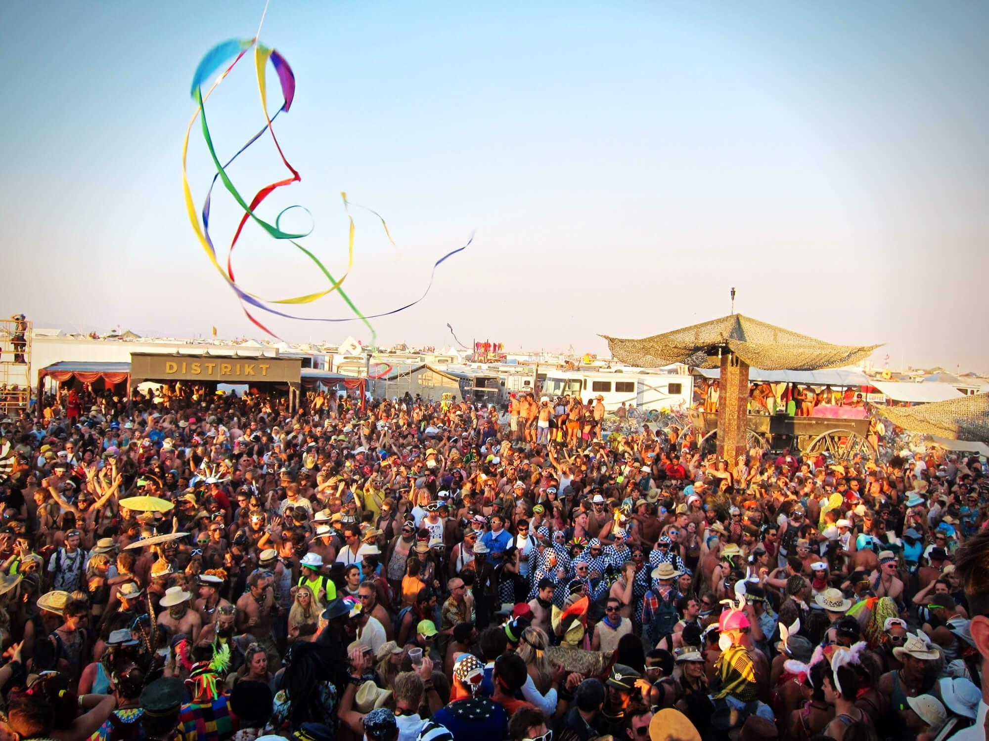 Distrikt Camp at Burning Man