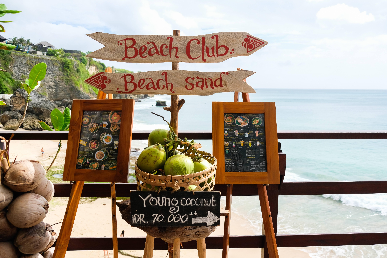 Beach Club Sign