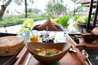 Food at AYANA Resort in Bali