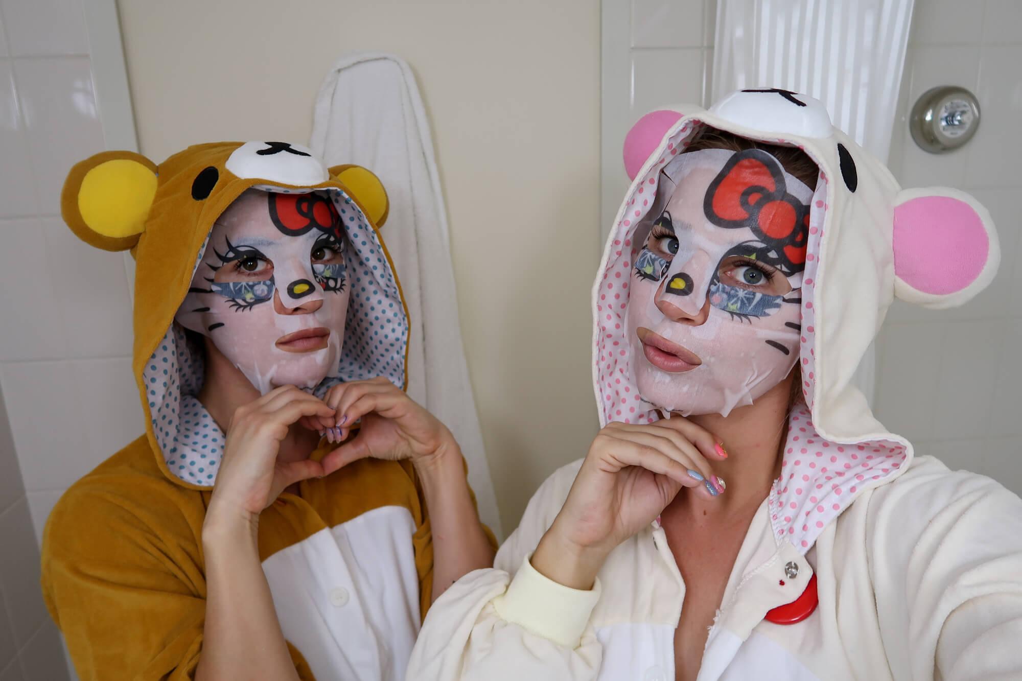 sanrio face mask