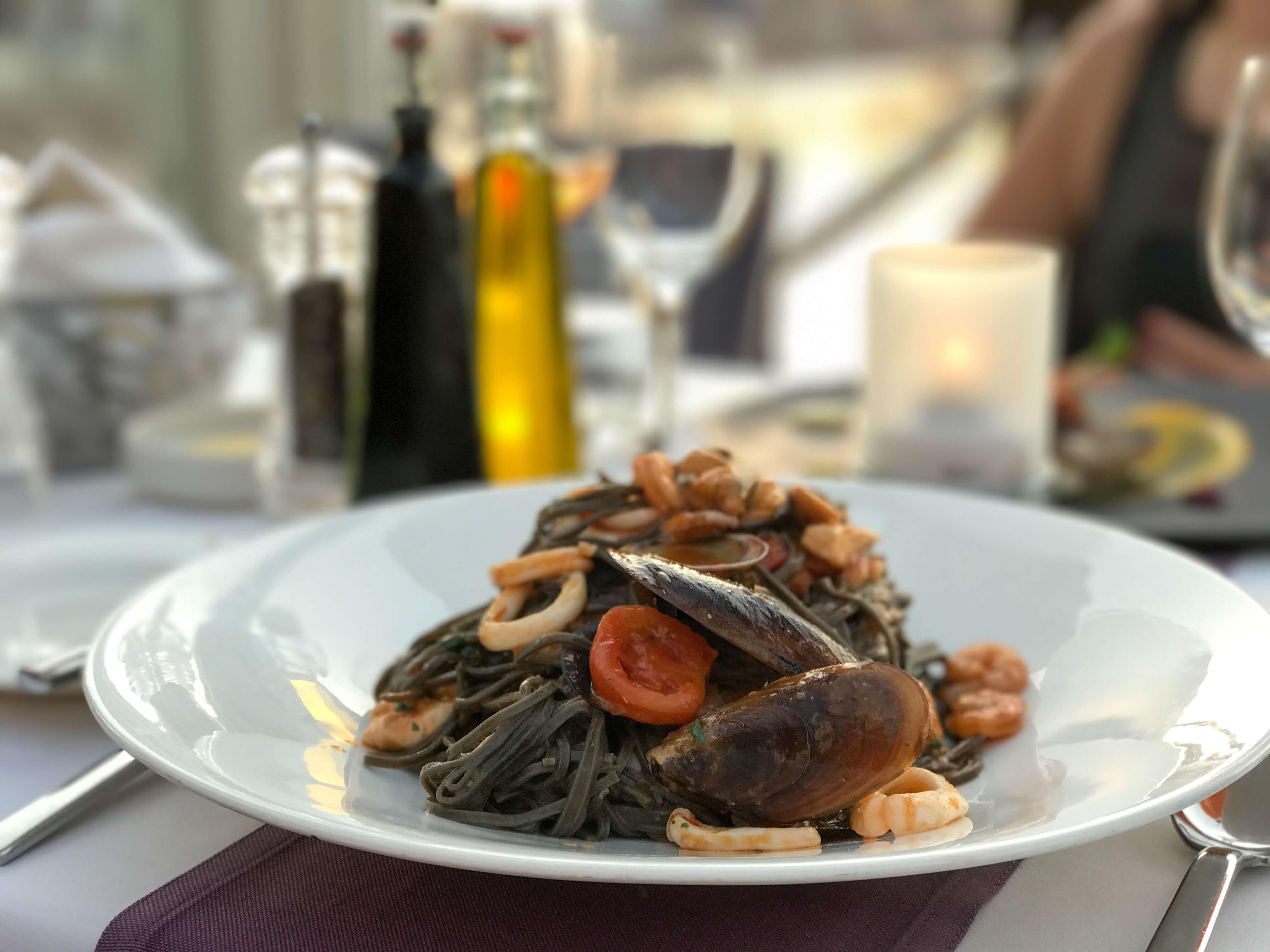 food at intercontinental malta hotel