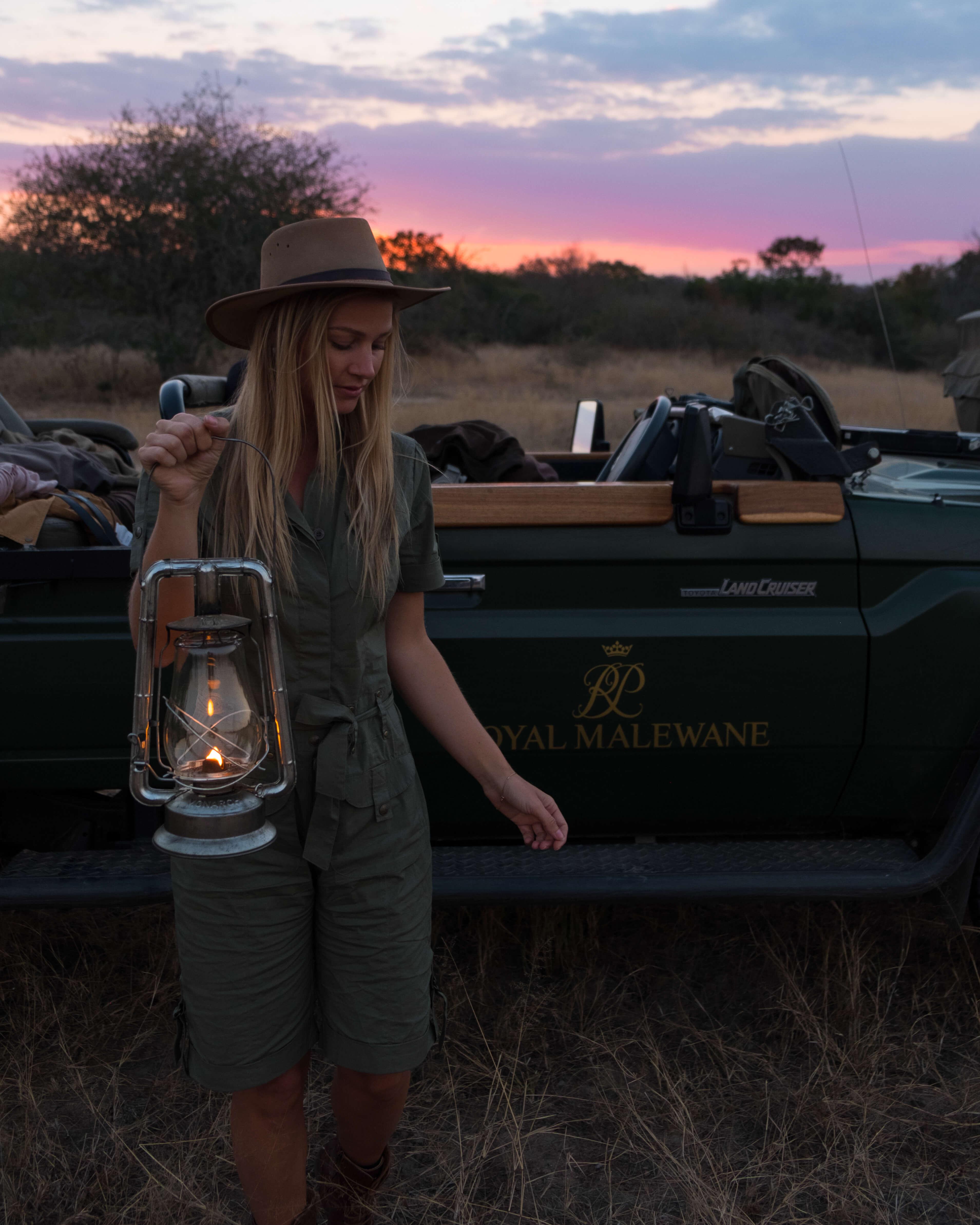 Royal Malewane Night Safari