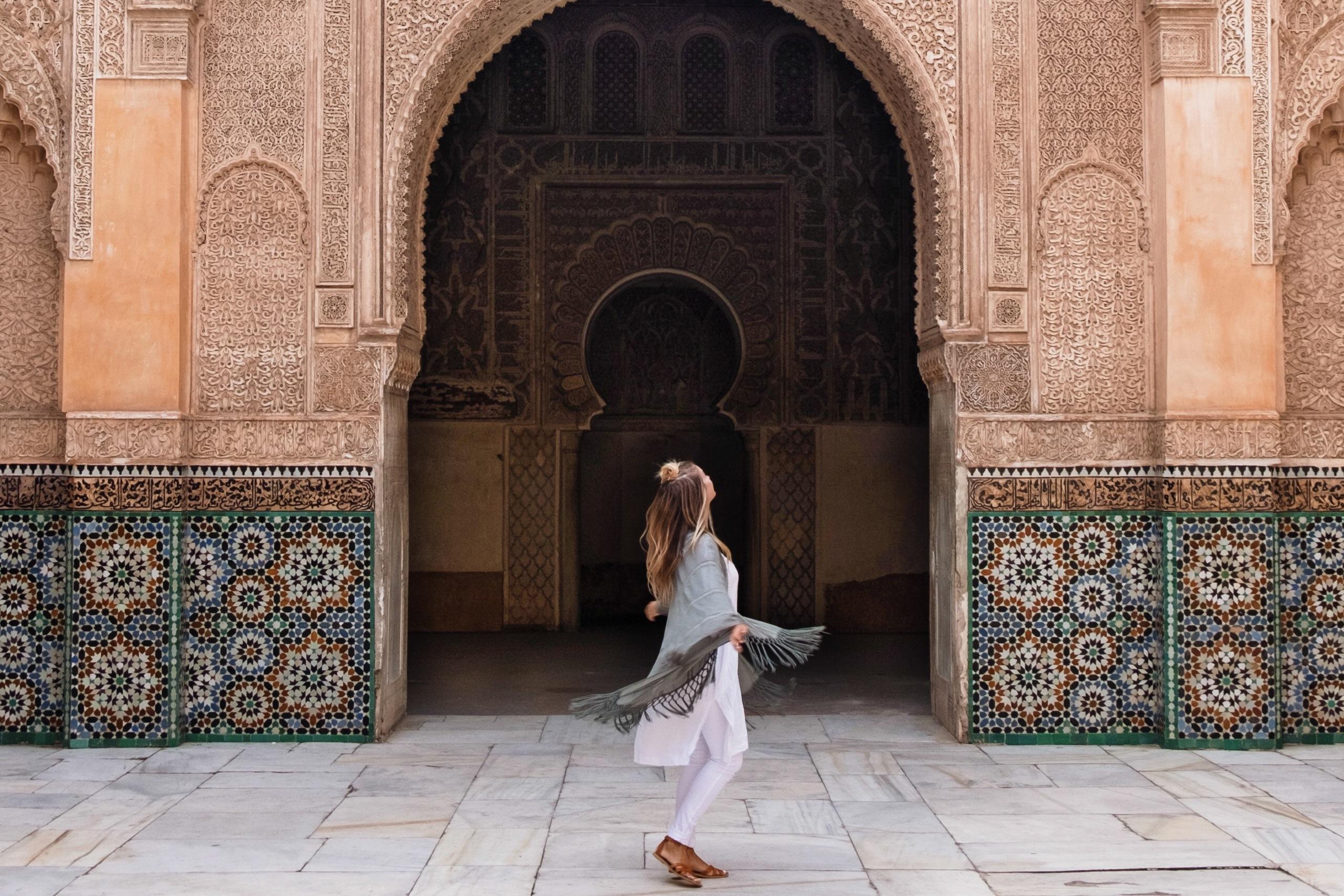 Touring Marrakech