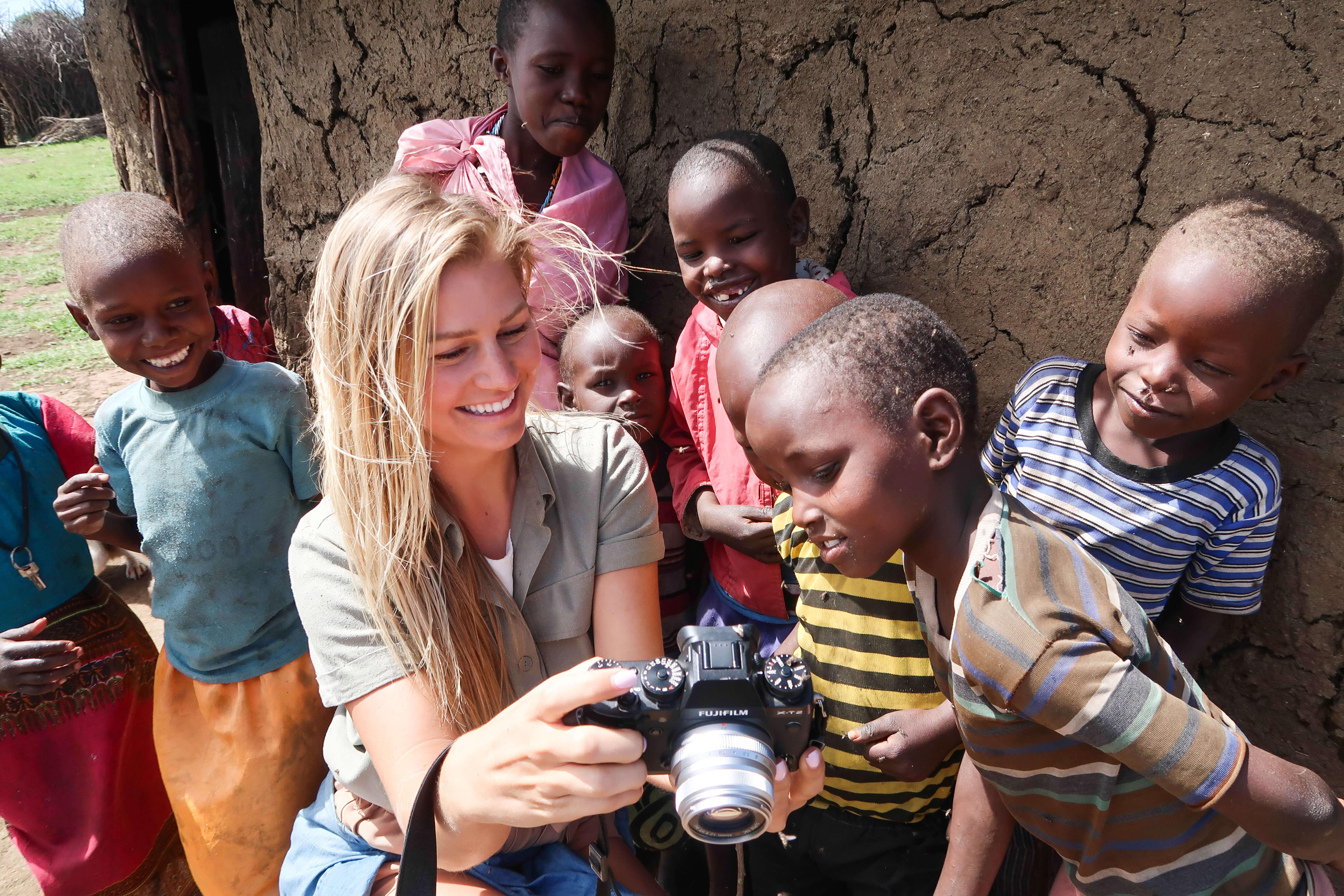 Local Maasai Mara children