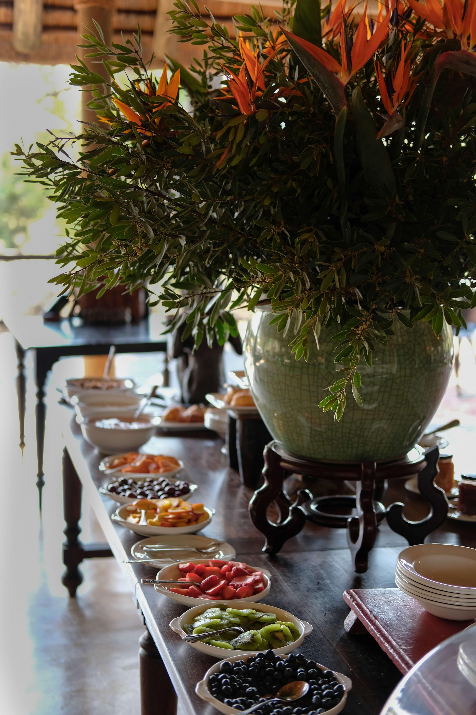 Food at the royal malewane