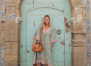 blonde girl conservative morocco