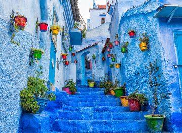 chefchaouen blue city morocco