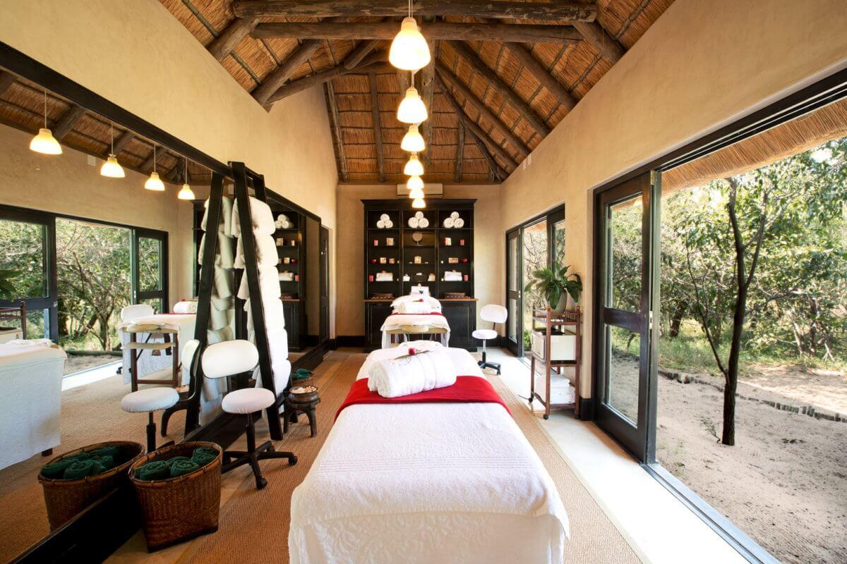 Royal Malewane Spa Room