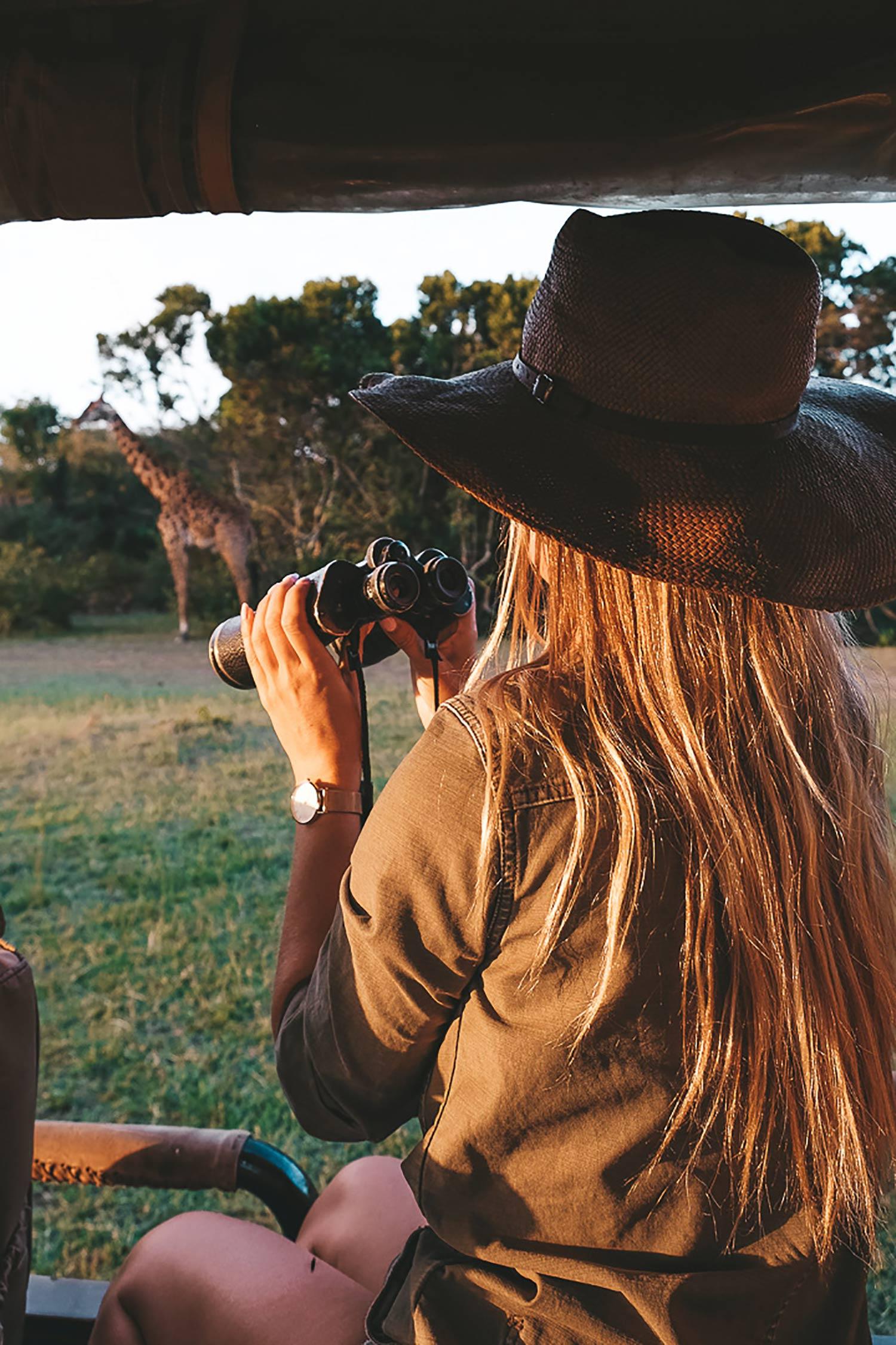 Kiersten Safari Kenya