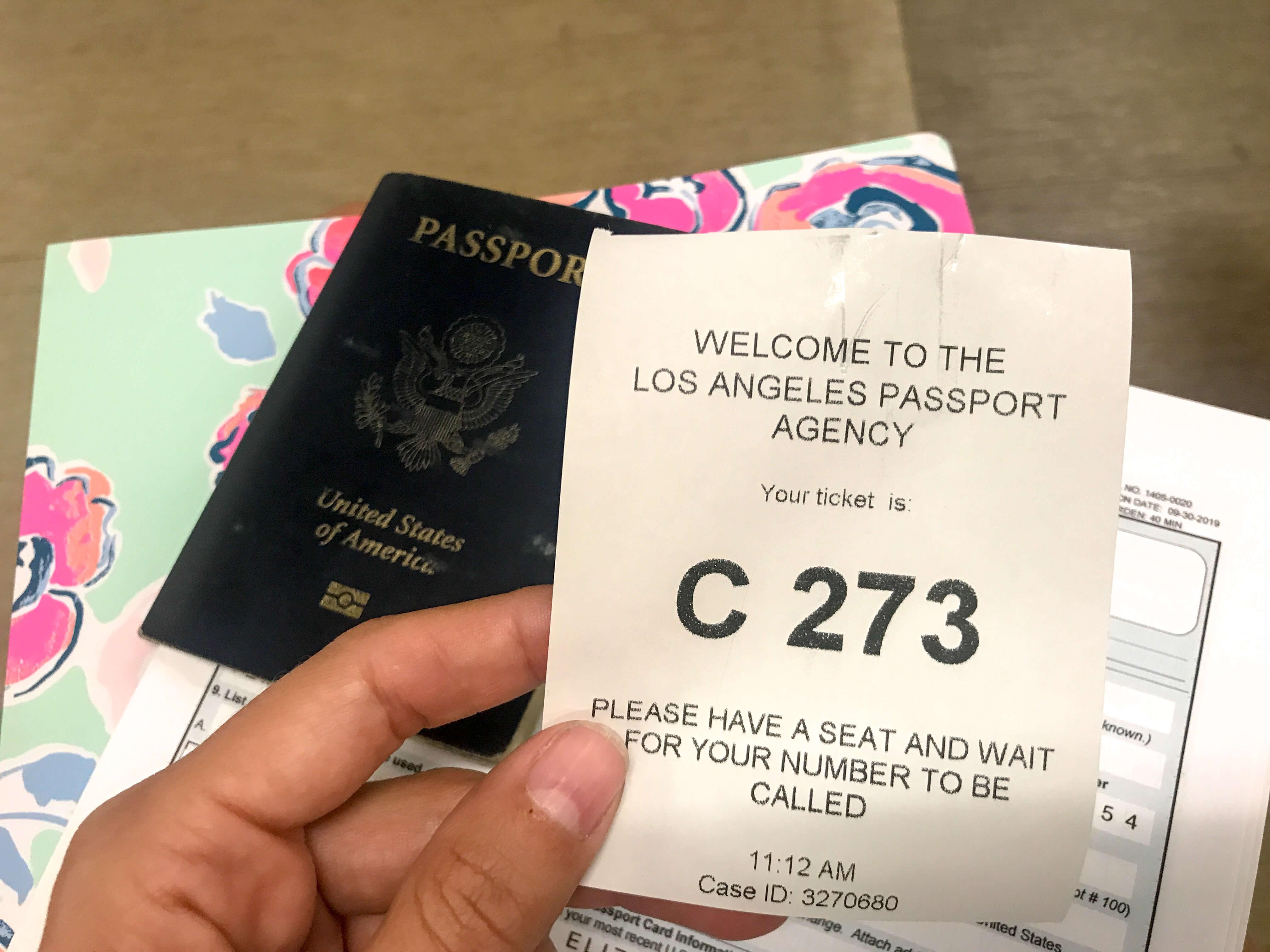 passport waiting number