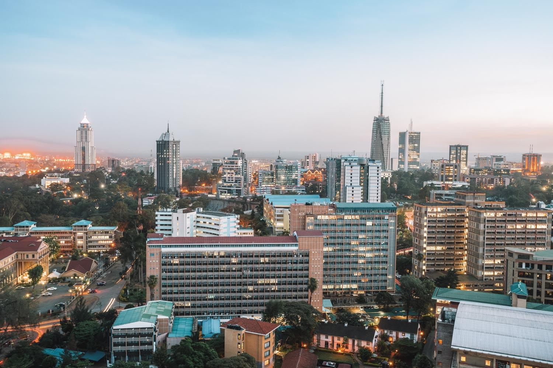 Nairobi Cityscape Kenya