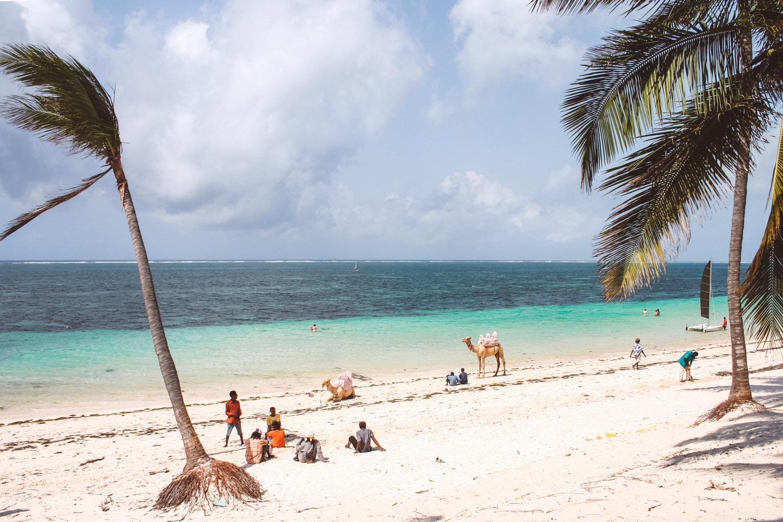 Beach in Kenya