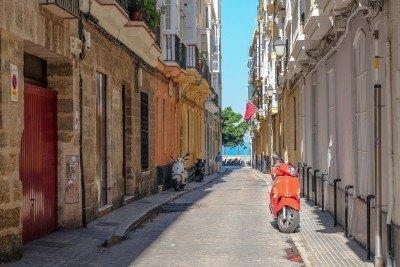 street in cadiz