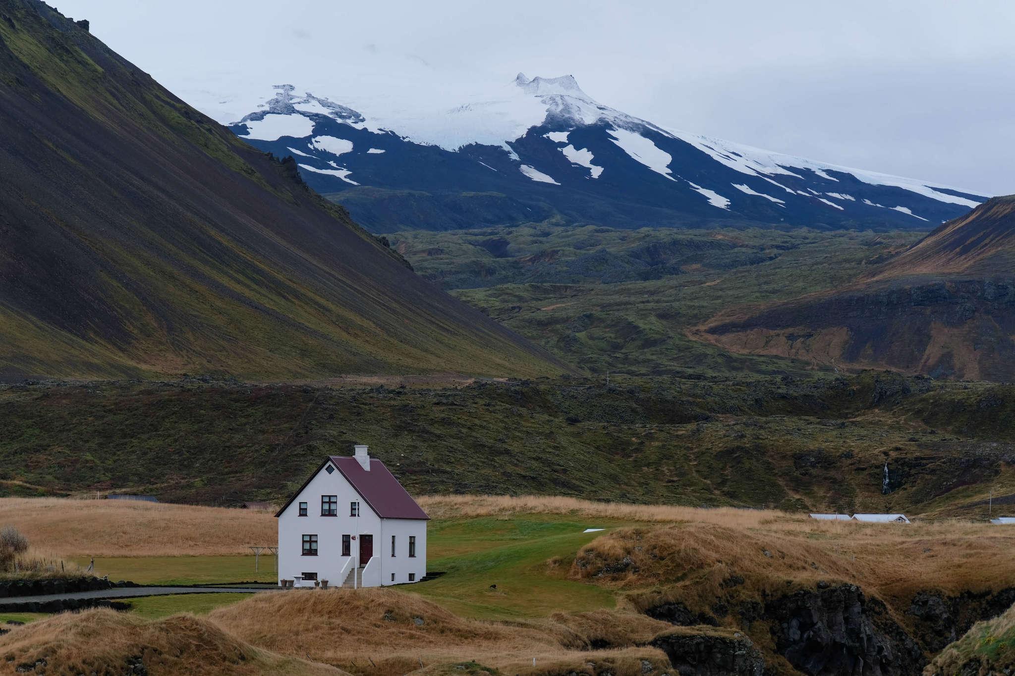 Arnarstapi countryside