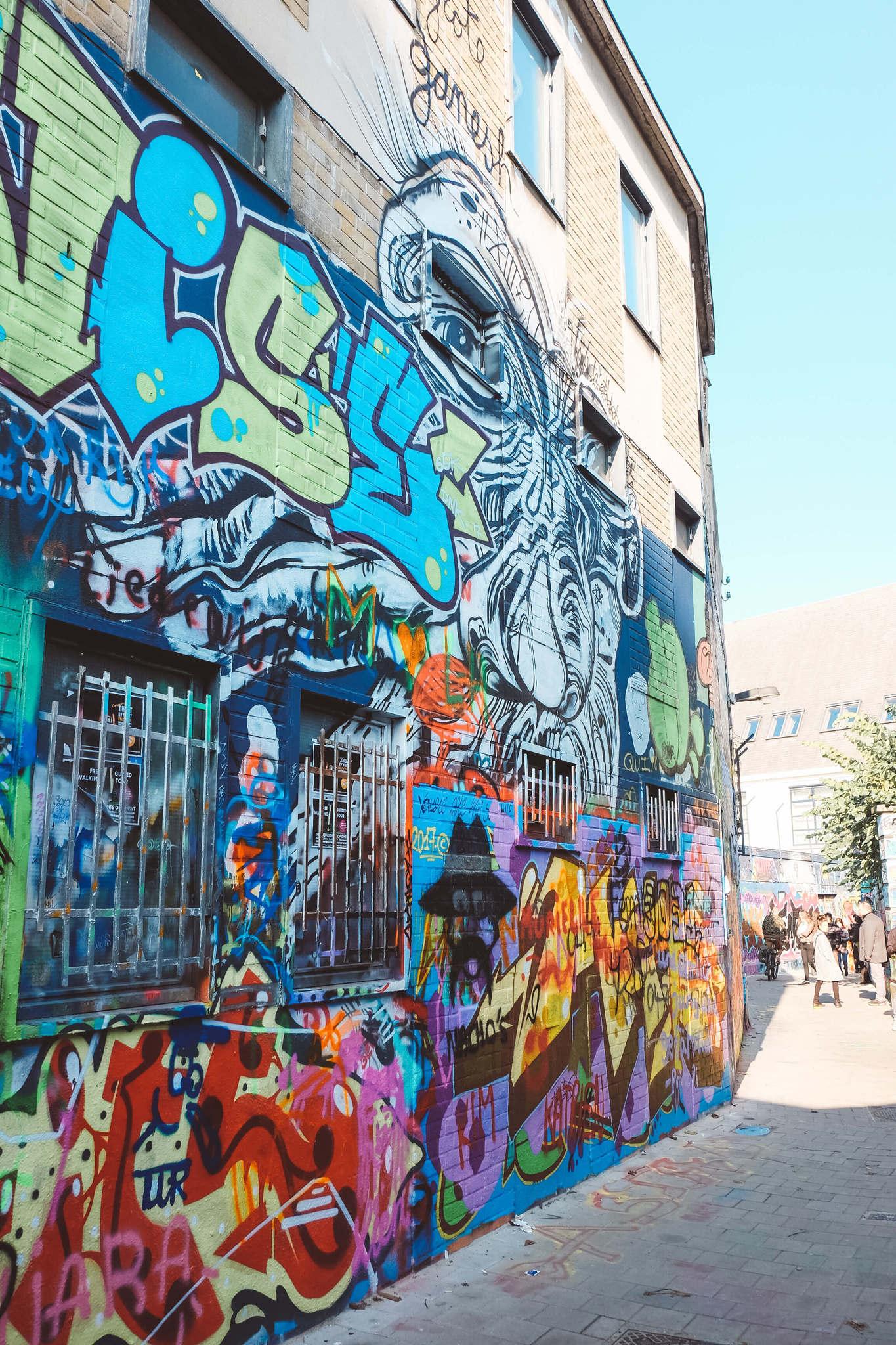 grafhitti in ghent belgium