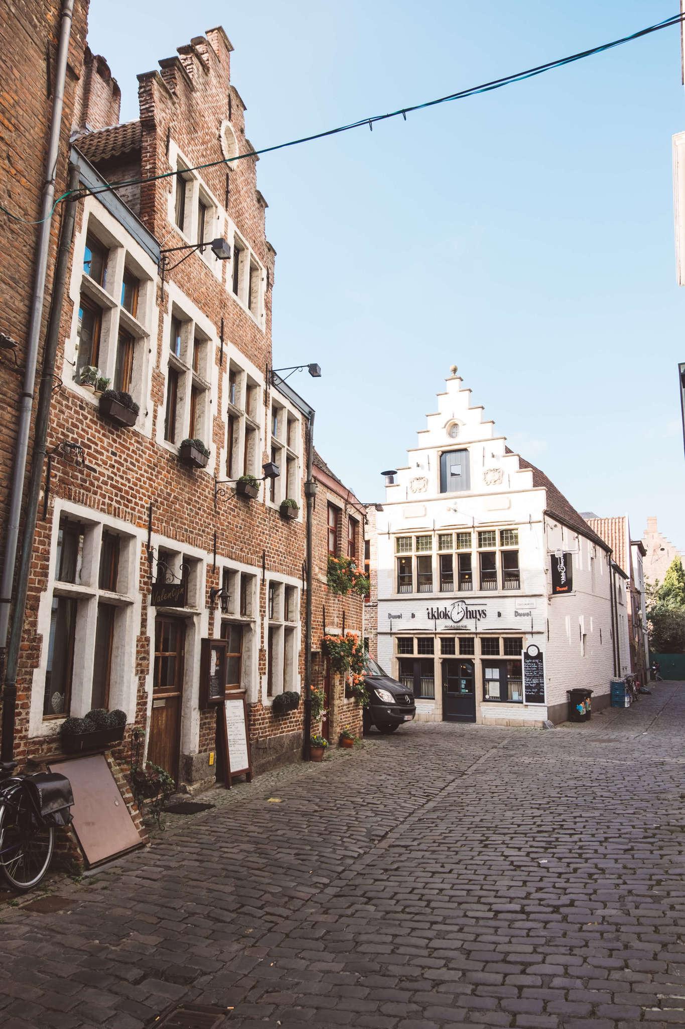 street in ghent belgium